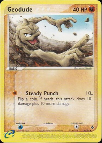 Geodude - 56/97 CommonPokemon Card SingleGotta Collect 'Em All! Pokemon
