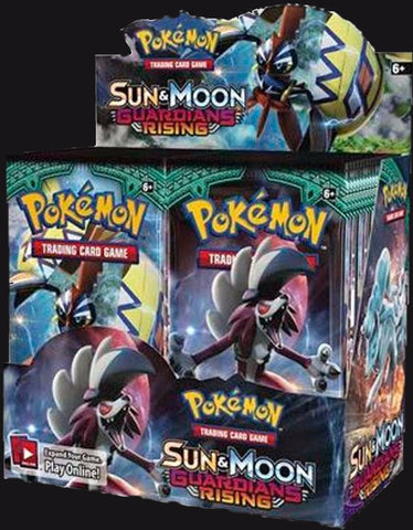Pokémon TCG: Sun & Moon Guardians Rising Booster Box