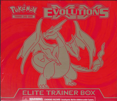 Pokémon TCG: XY Evolutions Mega Charizard Elite Trainer Box