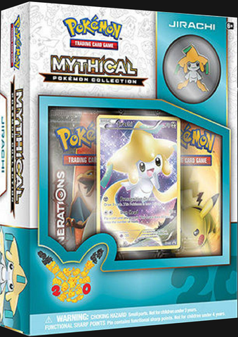 Pokémon TCG: Mythical Collection Box Jirachi