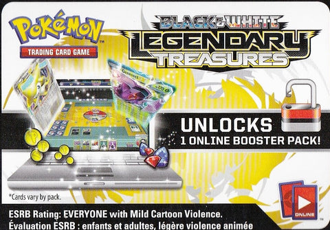 BW Legendary Treasures Online Booster Pack Code [PTCGO]
