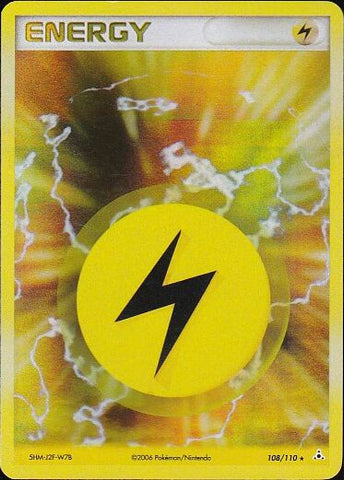 Lightning Energy - 108/110 Rare Holo