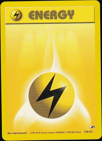 Lightning Energy - 130/132Pokemon Card SingleGotta Collect 'Em All! Pokemon