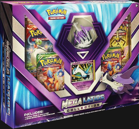 Pokémon TCG: Mega Latios Figure Collection Box