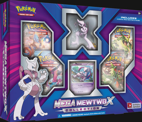 Pokémon TCG: Mega Mewtwo X Collection Box