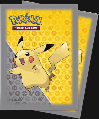 Pikachu Deck Protector Sleeves 65ct PackPokemon Card SingleGotta Collect 'Em All! Pokemon
