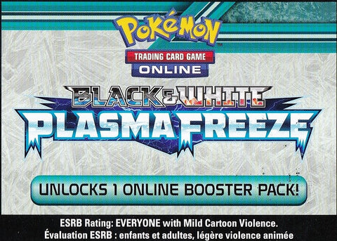 BW Plasma Freeze Online Booster Pack Code [PTCGO]