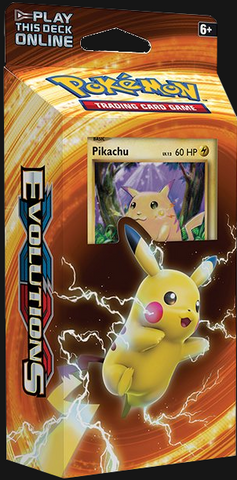 Pokémon TCG: XY Evolutions Pikachu Power Theme Deck