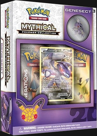 Pokémon TCG: Mythical Collection Box Genesect