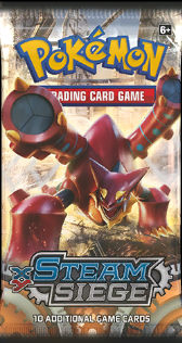 Pokémon TCG: XY Steam Siege Booster Pack