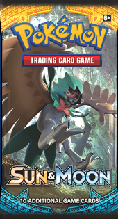 Pokémon TCG: Sun & Moon Base Set Booster Pack