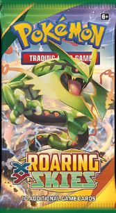 Pokémon TCG: XY Roaring Skies Booster Pack