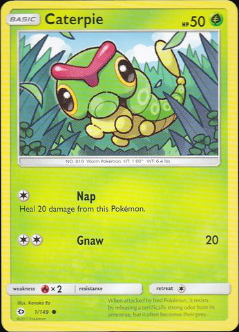 Caterpie - 1/149 Common