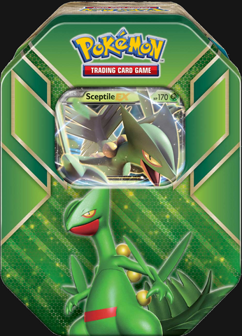 Pokémon TCG: Hoenn Power Sceptile EX Tin