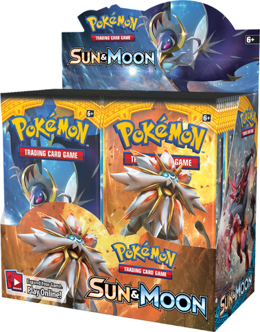 Pokémon TCG: Sun & Moon Base Set Booster Box