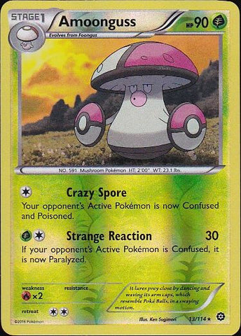 Amoonguss - 13/114 Rare Reverse Holo, Pokemon Card Single, Gotta Collect Em All, product_collection], Pokemon