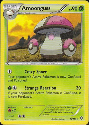 Amoonguss - 13/114 Rare, Pokemon Card Single, Gotta Collect Em All, product_collection], Pokemon