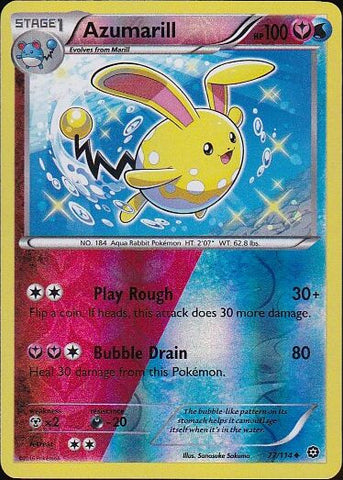 Azumarill - 77/114 Uncommon Reverse Holo, Pokemon Card Single, Gotta Collect Em All, product_collection], Pokemon
