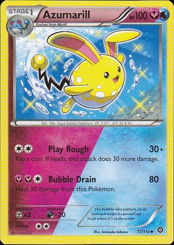 Azumarill - 77/114 Uncommon, Pokemon Card Single, Gotta Collect Em All, product_collection], Pokemon