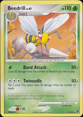 Beedrill - 13/106 Rare, Pokemon Card Single, Gotta Collect Em All, product_collection], Pokemon