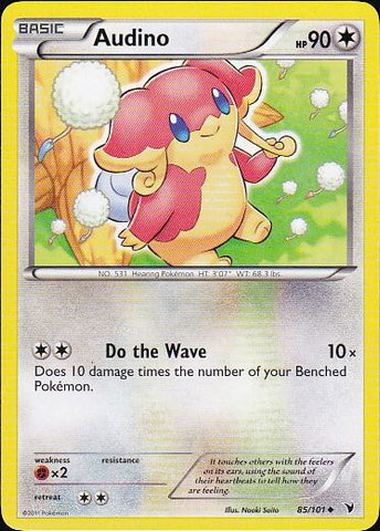 Audino - 85/101 Uncommon, Pokemon Card Single, Gotta Collect Em All, product_collection], Pokemon