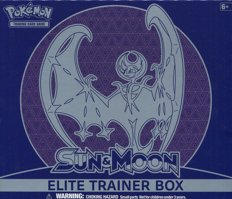 Pokémon TCG: Sun & Moon Lunala Elite Trainer Box