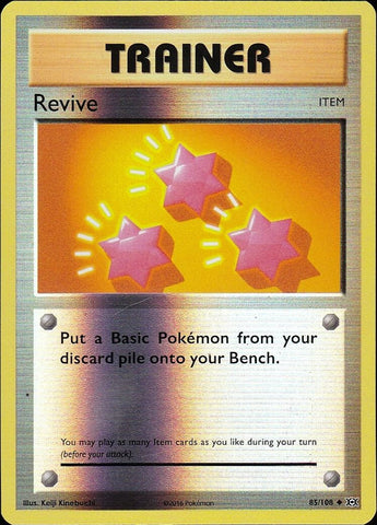 Revive - 85/108 Uncommon Reverse Holo