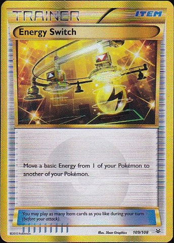 Energy Switch - 109/108 Secret RarePokemon Card SingleGotta Collect 'Em All! Pokemon