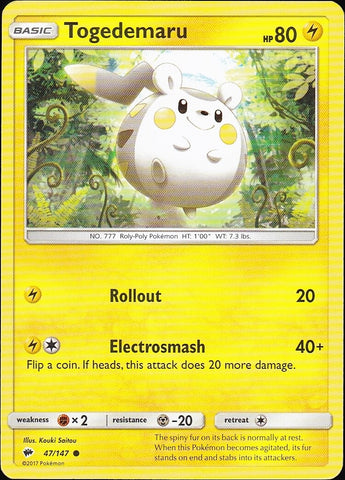 Togedemaru - 47/147 Common