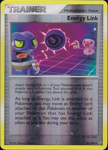 Energy Link - 83/100 Uncommon Reverse HoloPokemon Card SingleGotta Collect 'Em All! Pokemon