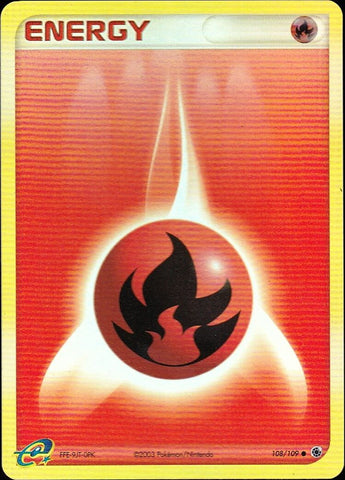 Fire Energy - 108/109 Common Reverse Holo