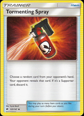 Tormenting Spray - 125/147 Uncommon