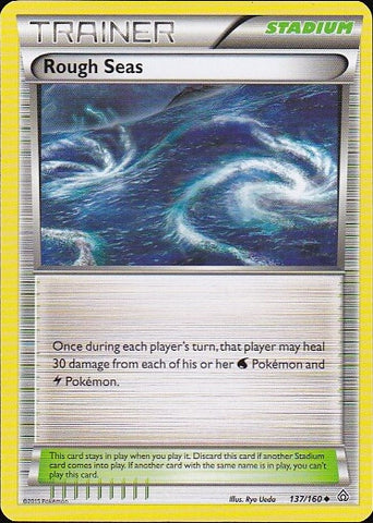 Rough Seas - 137/160 UncommonPokemon Card SingleGotta Collect 'Em All! Pokemon