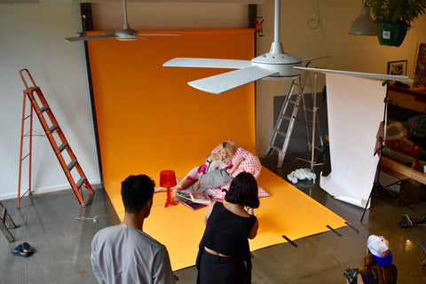 Study of Colour - R.E.M Campaign shoot with L.A.N.D deKommune
