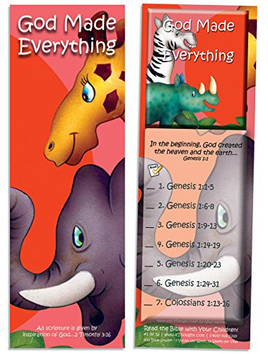 God Made Everything - Pack of 25 Cards