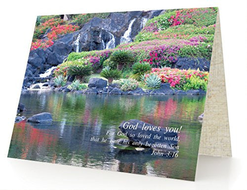God Loves You - Box of 12 Cards and 12 Envelopes