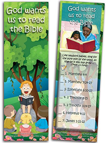 God Wants Us to Read the Bible - Pack of 25 Cards