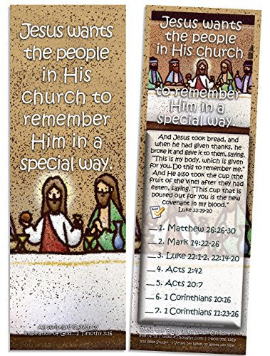 Jesus Wants His Church to Remember Him - Pack of 25 Cards