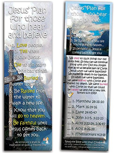 Jesus' Plan for Those Who Hear and Believe - Pack of 25 Cards