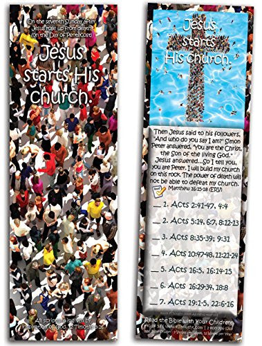 Jesus Starts His Church - Pack of 25 Cards