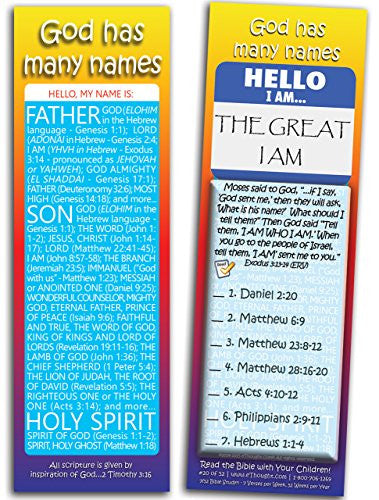 God Has Many Names - Pack of 25 Cards