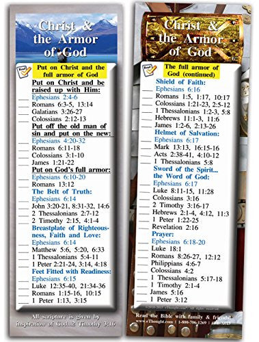 Christ and the Armor of God - Pack of 25 Cards