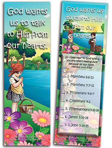 God Wants Us to Talk to Him - Pack of 25 Cards