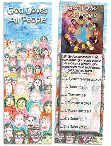God Loves All People - Pack of 25 Cards