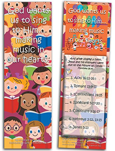 God Wants Us to Sing to Him - Pack of 25 Cards