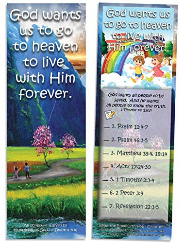 God Wants Us to Go to Heaven - Pack of 25 Cards