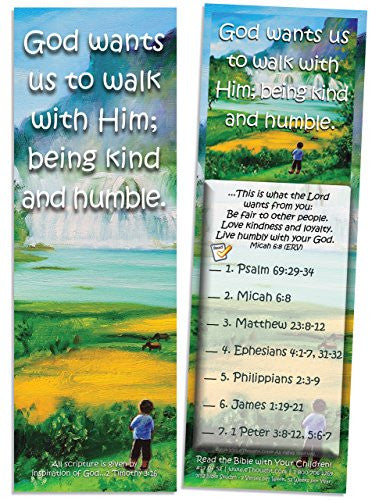 God Wants Us to Walk with Him - Pack of 25 Cards