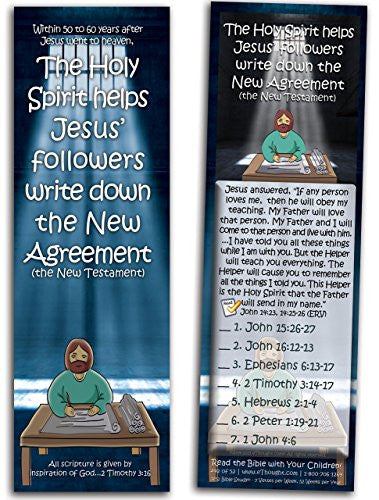 The Holy Spirit Helps Jesus' Followers Write - Pack of 25 Cards