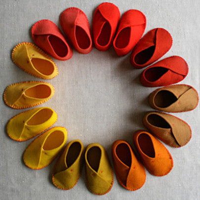 Adorable Baby Moccasins - Anyone Can Make!