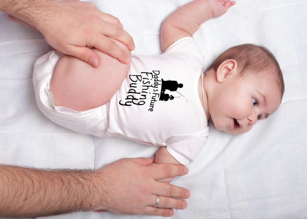 Hilariously Cute Onesie - Daddy's Future Fishing Buddy